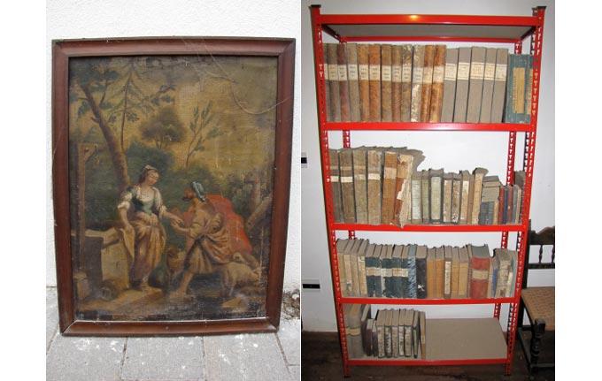 Libri e quadri